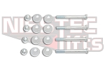 Front Camber Bolt Kit- Full Set